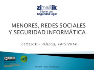 Zinetik - Menores y Redes Sociales
